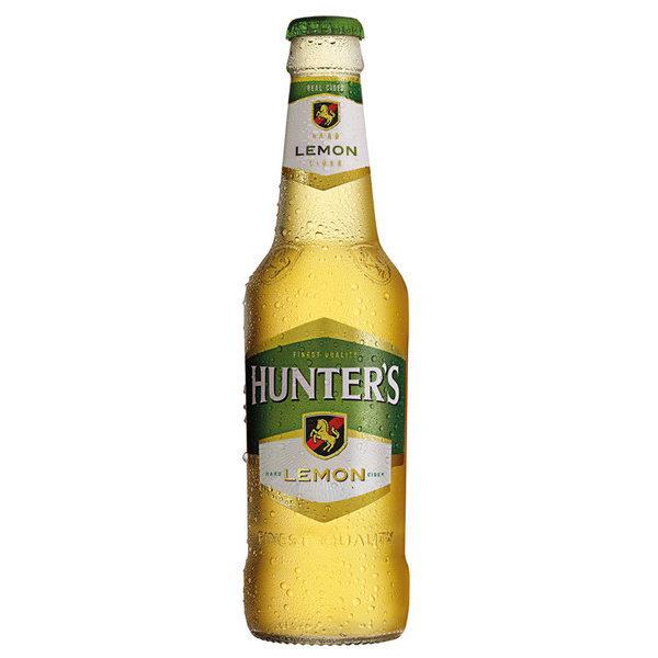 Hunters Hard Lemon (Case) 24 Ciders Case of 24