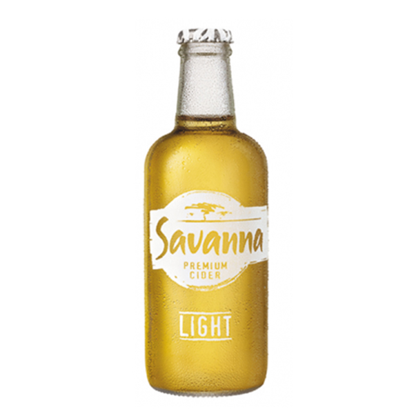 Savanna Light (Case) 24 Ciders Case of 24