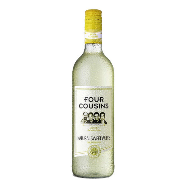 Four Cousins Naturally Sweet White Single Bottles