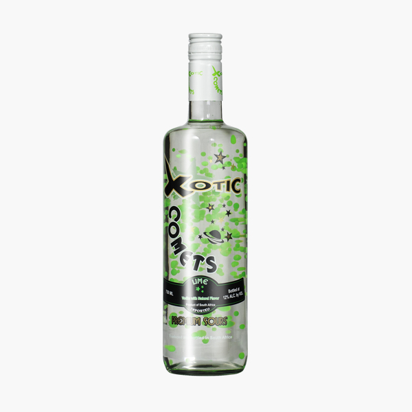 Xotic Comets Sours – Lime Single Bottles
