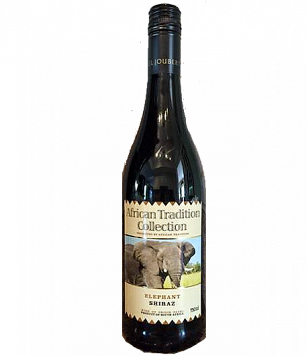 African Tradition Shiraz Red Wine