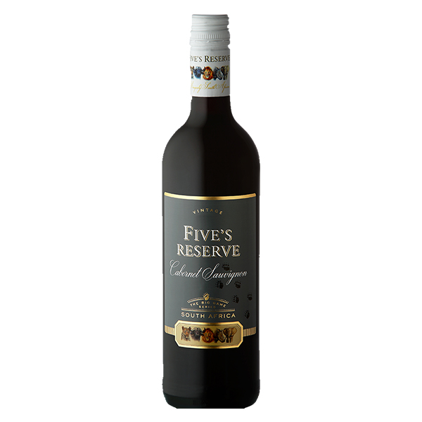 Five's Reserve Cabernet Sauvignon (36 Bottles) Buy 36 Pay for 24