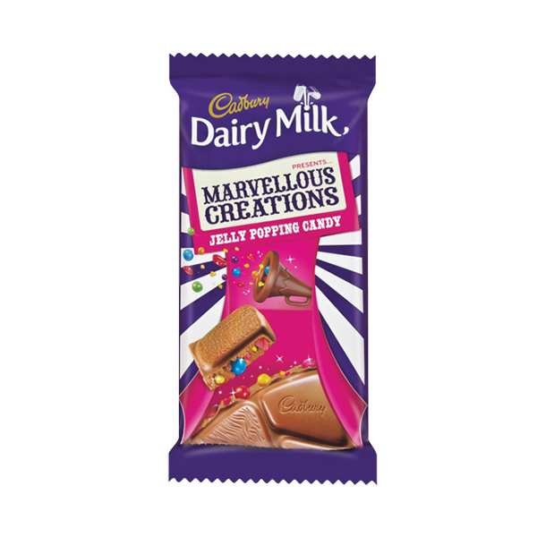 Cadbury Marvellous Creations Jelly Popping Candy Food