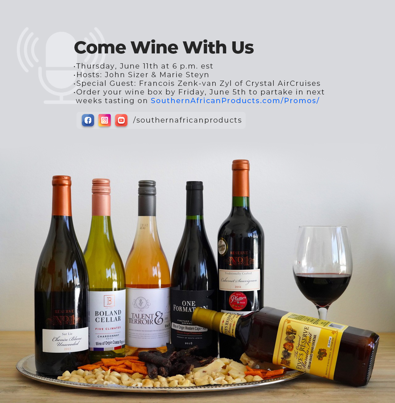 Come Wine With US – Episode 1